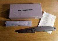 Real Steel G3 Puukko Duplex Knife 7812