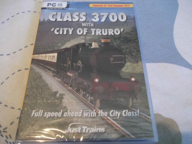 Classe 3700 avec City of Truro PC-DVD Neuf Scellé (expansion pour Train Sim 2013)
