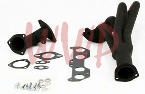 Black-Coated-Exhaust-Header-Kit-For-96-00-Toyota-Tacoma-2-7L-4WD-PreRunner-2WD