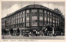 BERLIN KAUFHAUS HERTIE Belle-Alliance-Platz 1-3 Autos 20er Ja.