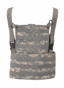 Rack-Vest-ACU-ARMY-Digital-MOLLE-by-TRU-SPEC-for-Airsoft-Painball-Military