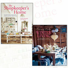 Stylish Homes Collection Shopkeeper's Home & Selina Lake Winter Living 2 Bookset