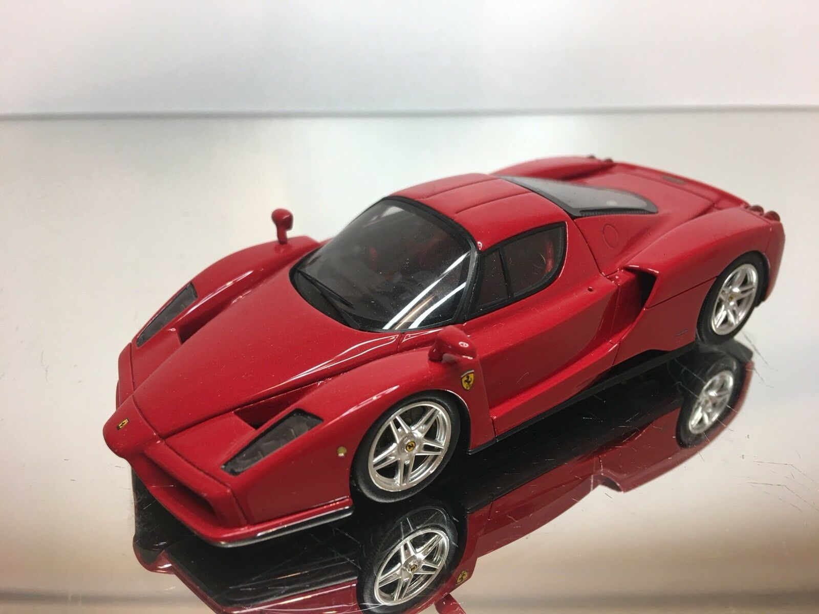BBR    FERRARI ENZO  STREET VERSION rosso   1:43 - EXCELLENT CONDITION - 8