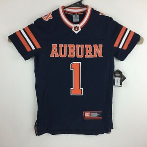 Details About Auburn Tigers Youth Football Jersey Number 1 Color Navy By Colosseum New Nwt