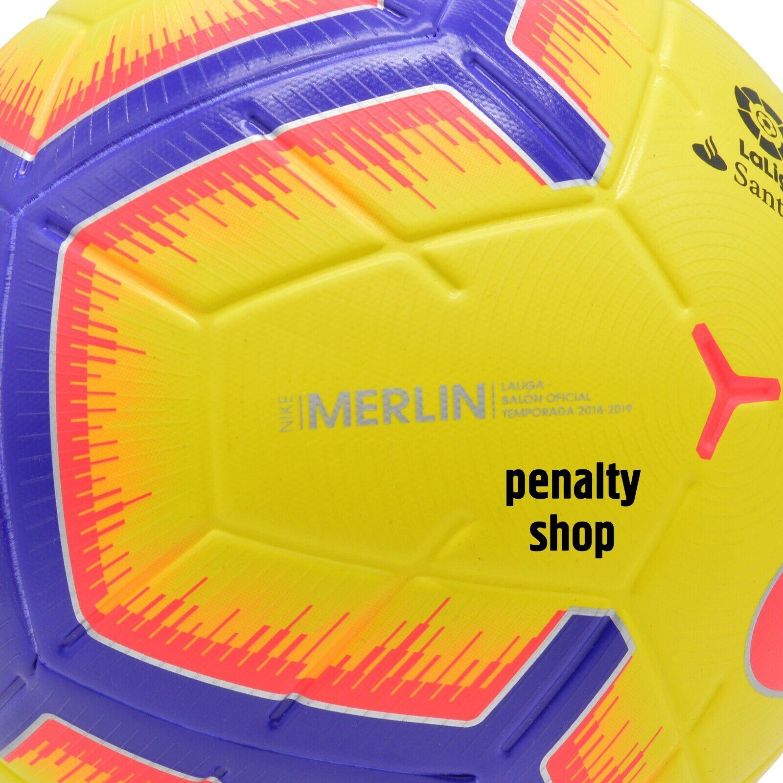 el viento es fuerte Quien ventilación  Fußball Nike La Liga Merlin Sc3306 100 Fussball 5 Football for sale online    eBay