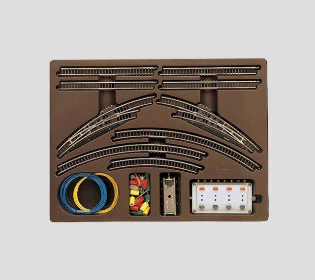 Märklin 8192 Z doppio binario confezione t1 con 2 ELETTR. Arco Morbido, Nuovo