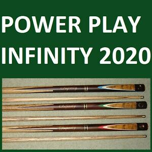 SNOOKER-POOL-ENGLISH-POWER-PLAY-CUE-rrp-180-great-value