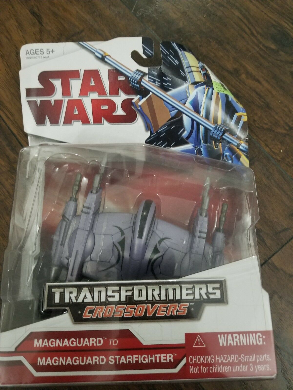 Magnaguard Starfighter Transformers Credvers Star Wars Hasbro 2009 New