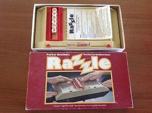 PARKER-Brothers-RAZZLE-RETRO-BOARD-GAME-COMPLETE