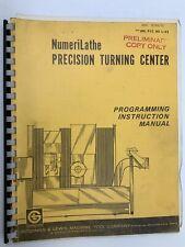 VMC Series Fadal Giddings /& Lewis Operations Manual Year 1997