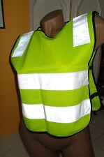 Kinder Warnweste Sicherheitsweste für mehr Sicherheit auf Schulweg, Radweg  ...