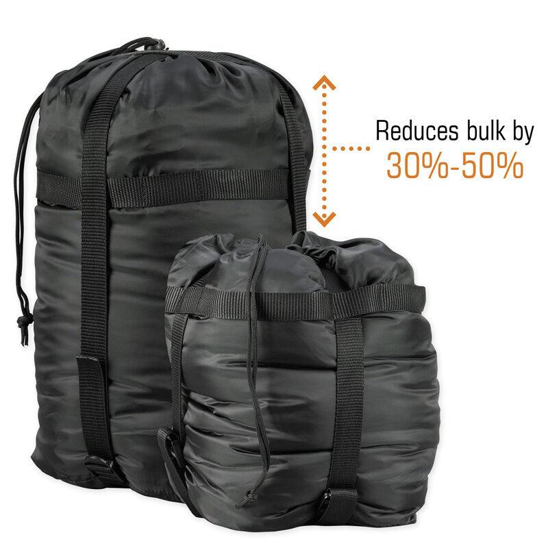 SNUGPAK SLEEPING BAG//COAT COMPRESSION CRUSH SACK LARGE by Snugpak