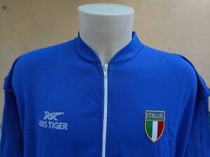 FELPA-PALLAVOLO-ITALIA-ASICS-TIGER-XL-VINTAGE-1990s-JACKET-TOP-TRACKSUIT-0003