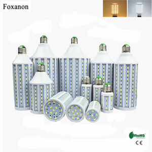 E27-7W-50W-5730SMD-LED-Corn-Bulb-Lamp-Light-Energy-Saving-Outdoor-White-110-220V