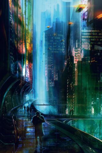 Art Poster Blade Runner 2049 2017 Movie 36 27x40inch Wall Silk N867