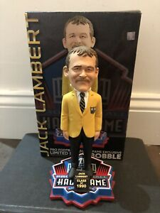 sports shoes 8fca0 d0da3 Details about Jack Lambert NFL Pro Football Hall of Fame Gold Jacket  Induction Bobblehead