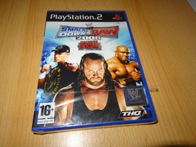 SMACKDOWN VS RAW 2008 (PS2) Nuevo Empaquetado PAL