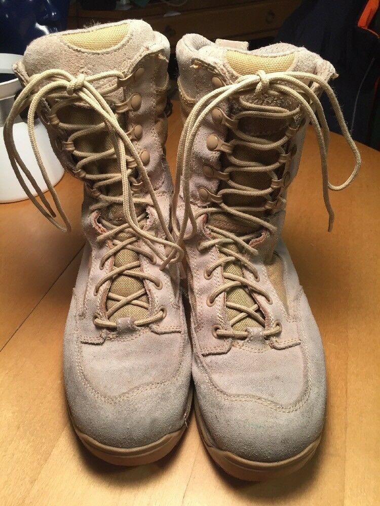 Danner Desert 26014 TFX Rough-Out Hot 8  Tan Military Work Men US 6.5 D Boots