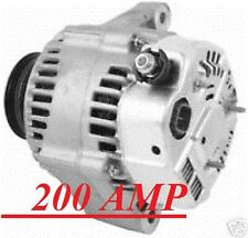 200AMP HIGH OUTPUT ALTERNATOR HONDA ACCORD ACURA CL 2.3L 98 1999 2000 2001 2002