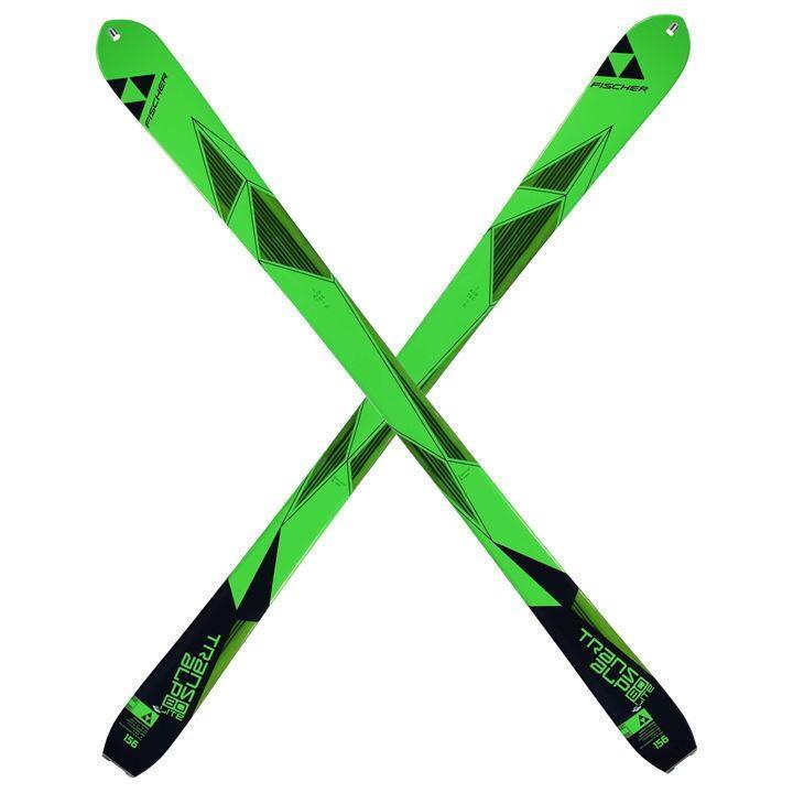 Fischer Transalp 80 Mens Skis 170cm Sidecut 118 - 80 - 104