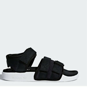 hot sales 16ca9 bbe61 Image is loading Adidas-AC8583-Women-slippers-Adilette-sandals-black