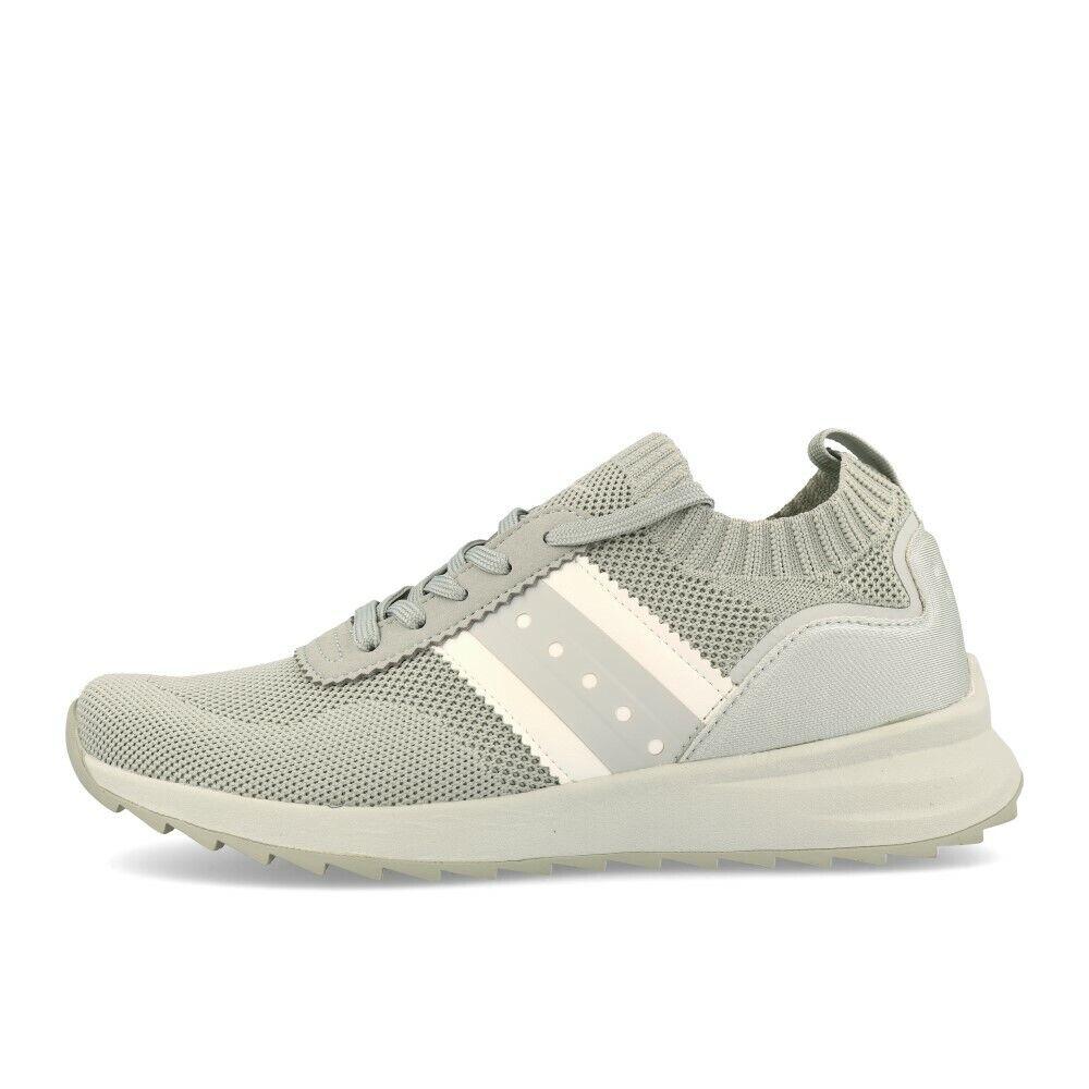 Tamaris 23709-23 Turnschuhe Steel grau Schuhe Turnschuhe Grau