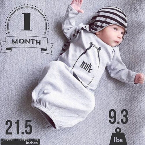Newborn Infant Baby Boys Clothes Romper Bodysuit Sleeping Bag Sleepsack Outfits