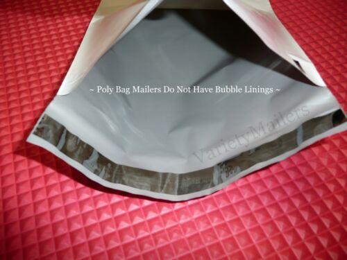 50 Poly Bag Postal Mailing Envelope Variety Pack  5 Sizes  Self-Sealing Mailers