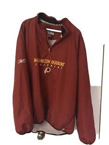 Game-Worn-Used-Washington-Redskins-jacket-jersey-Pullover-coach-issued-Sideline