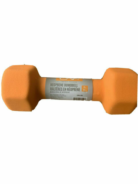 SDN5008 for sale online CAP 8lbs Neoprene Hex Coated Dumbbell