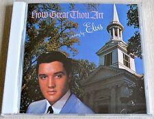Elvis Presley How Great Thou Art CD RCA 0035628375827 T10