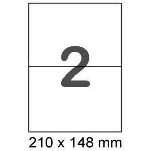 100-Etiketten-210x148-mm-DIN-A5-Format-wie-Avery-Zweckform-3655-Herma-4628-4282