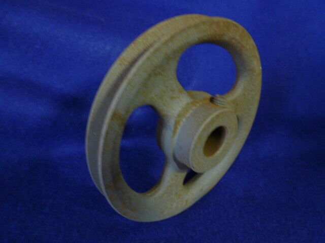 "NOS Browning AL54 Pulley Sheave 4.93 Diameter Single Groove 3//4/"" bore No Keyway"
