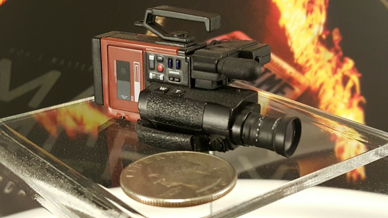 heiß Spielzeugs MMS257 Back to the Future 1 6 Marty Mcfly Wirkung Figure's camcorder