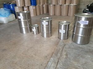 Stainless Steel drums crevice free drums brand new now available all  sizes