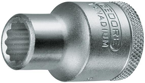"""Steckschl.-Eins. 1/2"""" 25/32""""x40,0mm12ktGedore E/D/E Logistik-Cente"""