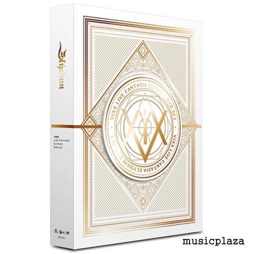VIXX  LIVE FANTASIA ELYSIUM DVD 2DISC+PHOTOBOOK(96P)+STANDING PAPER