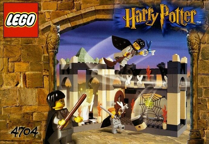 LEGO HARRY POTTER ROOM OF WINGED KEYS 4704 CHESS QUEEN 100% COMPLETE GUARANTEE