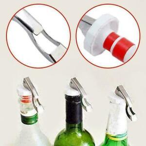 Edelstahl-Flaschenoeffner-Stopper-Plug-Champagner-Wein-Bier-Sealer-Bar-Wer-I3R9