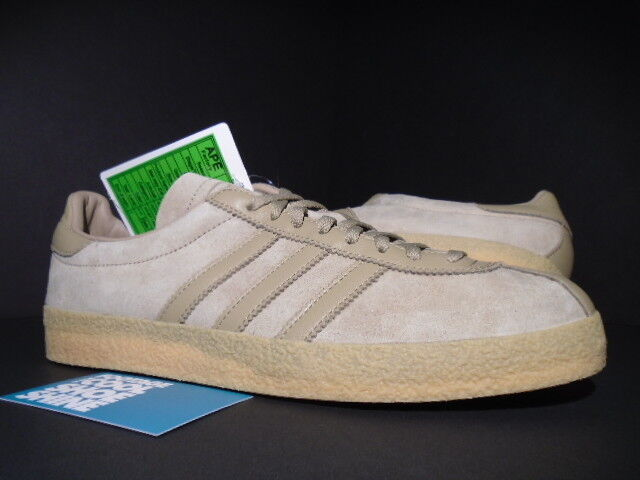 ADIDAS TOPANGA SALES SAMPLE CAMPUS CAMPUS CAMPUS STAN SMITH HEMP WHEAT Marronee GUM S75503 NEW 9 c6662c