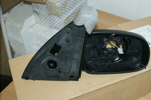 VAUXHALL ASTRA 5 DOOR ELECTRIC HEATED BLACK WING MIRROR DRIVERS OFF SIDE CLUB LS