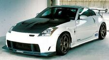 for 350Z 03-08 Nissan WN style Poly Fiber Front bumper body kit front