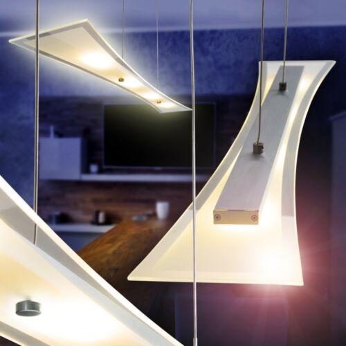 Design LED Hängelampe Esszimmer Lampe Wohn Zimmer Hängeleuchte Glas Pendellampe