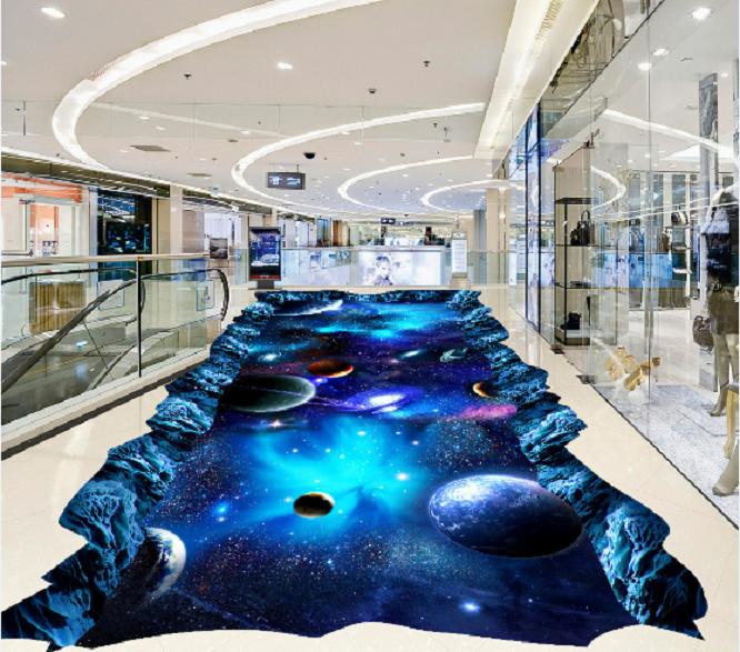 3D Cosmic Planet Sky 89 Floor WallPaper Murals Wall Print Decal AJ WALLPAPER US