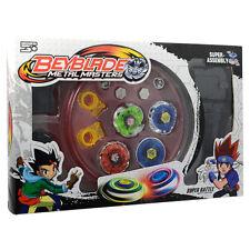 4D seltene Beyblade Metal Fusion Top Master Kampf + Launcher Grip Set Spielzeug