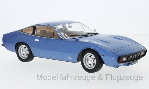 Kkdc 180282 Ferrari, 365 gtc 4, Metallico-Blu, 1971 1 18 KK-scale