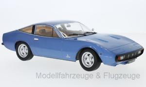 40% de descuento Kkdc 180282 Ferrari, 365 gtc 4, metallic-azul, metallic-azul, metallic-azul, 1971 1 18 KK-Scale  Precio por piso