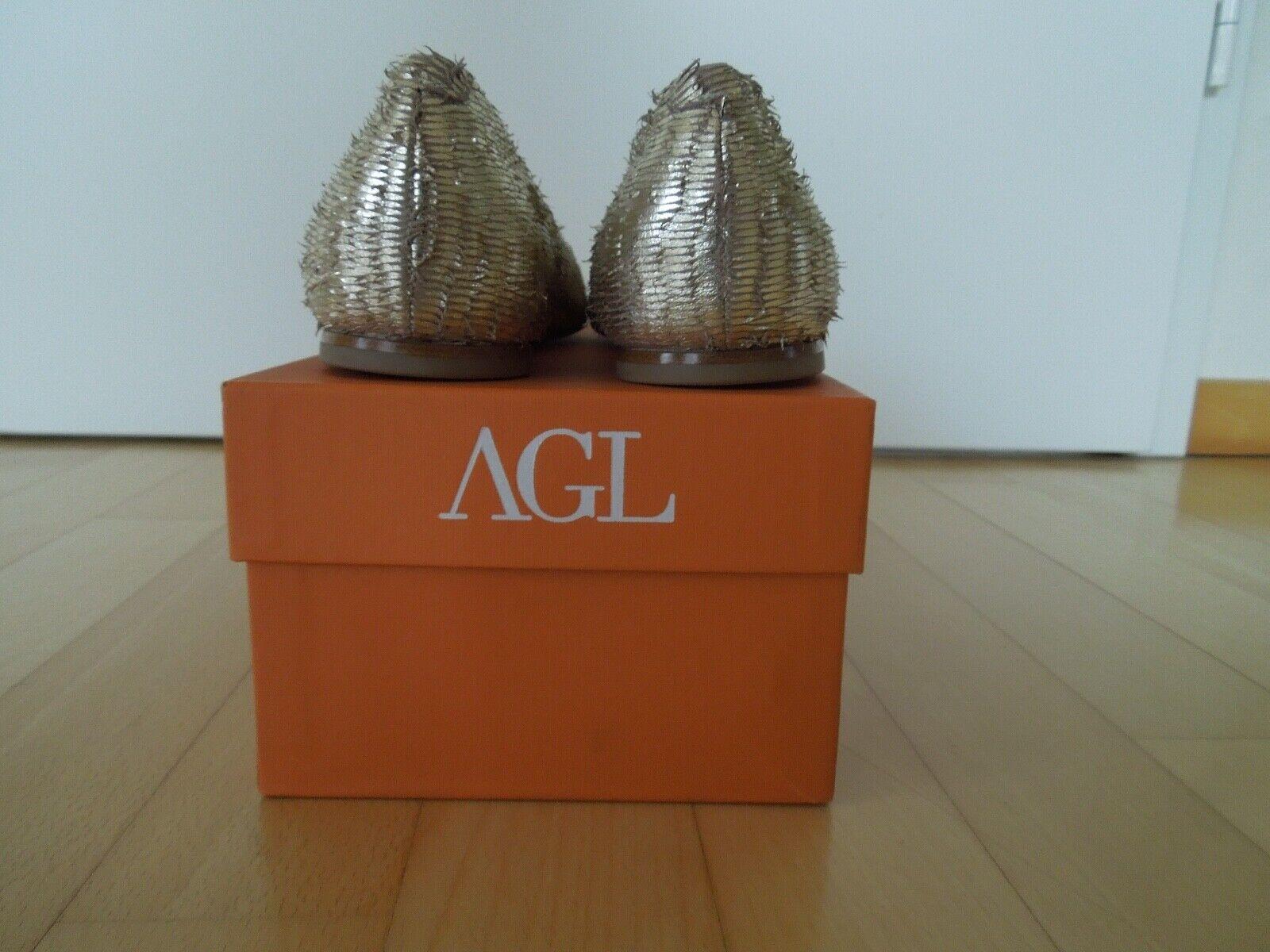 AGL Attilio Giusti Leombruni - Ballerina - Pumps - - - Schuhe Loafer - Leder - NEU 273273
