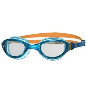 Zoggs-Phantom-Junior-2-0-UV-Protection-Anti-Fog-Swim-Pool-Goggles-Clear-Blue