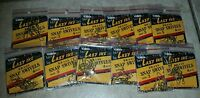 Lazy Ike Size 3 Brass Snap Swivels Qty 4 X 12 Packs Fishing 48 Swivels Total